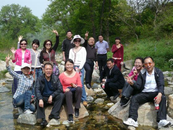 2012年春石人山龙潭峡游
